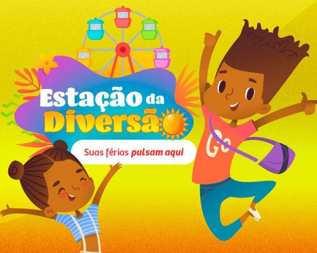 Estação da Diversão: Roda Gigante e Oficina de Slime são atrações para crianças no Shopping Piedade