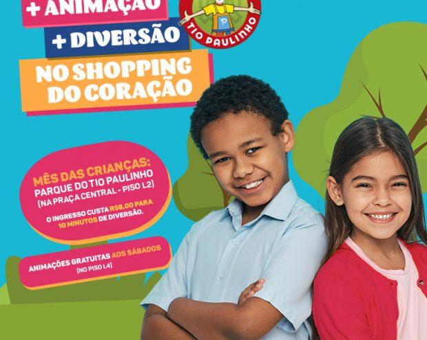 Mês das crianças Shopping Piedade